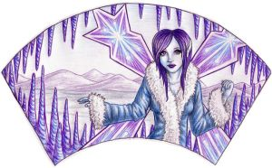 Faerie Fan: Winter by sufistuk8ed