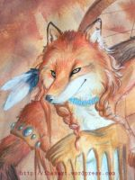 Foxy WiP by Quidfish