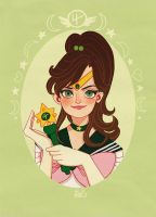 Sailor Jupiter by DixieLeota