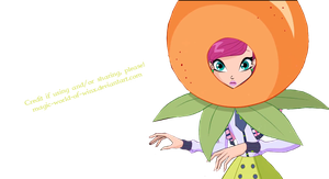 Winx Club Tecna as Fruit PNG! by Magic-World-of-Winx
