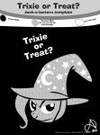 Trixie-or-Treat by ArshnessDreaming
