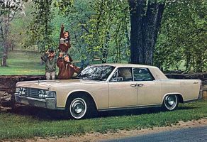 After the age of chrome and fins : 1965 Lincoln by Peterhoff3