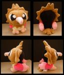 Spearow Mock Pokdeoll by Ashayx