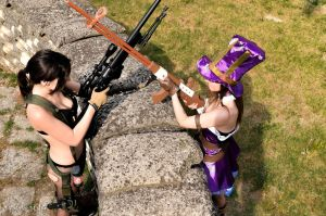 Caitlyn - League of Legends - and Quiet - Metal Ge by FaggioMAG