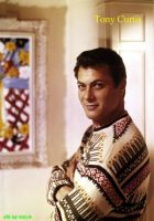 Tony Curtis by HalloweenMAGE