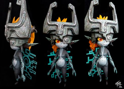 Life Size Midna Papercraft by studioofmm
