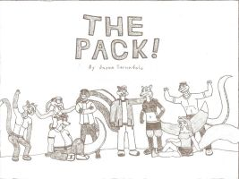 The Pack - Original Comic Cover by AnthroLoverJay