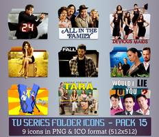 TV Series - Icon Pack 15 by apollojr
