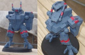 XV8 Battlesuit, in the works by underclocked