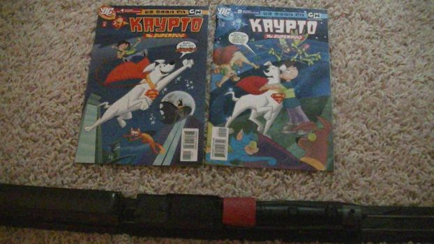 Krypto the Superdog Issues 1 and 2 by PereMarquette1225