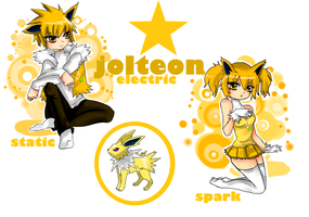 Jolteon by macciii