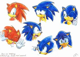 Sonic the Hedgehog (concept art) by Liris-san