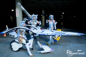 AX15 - KOS-MOS gathering by BlizzardTerrak