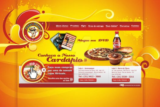 Web Site - Papo Pizza by clickdesigner