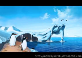The Penguins Past Time by mohdsyukri83