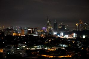 KL Nightscape by tarynsgate