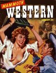 MAMMOTH WESTERN MAGAZINE cover art by peterpulp