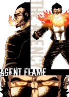 Agent Flame by W-Orks