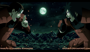 Hashirama VS Madara by Kyuubii9