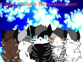 Happy B-day The1andonlyraven by LinkinstarShadow