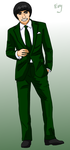 Sharp dresser : Gai by Sorceress2000