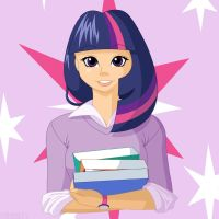 Twilight Sparkle by PrettyKitty