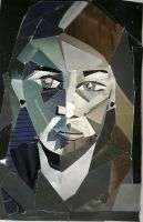 Chromatic Gray Self Portrait by guilty-bystander