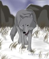 Wolf's Rain---Tsume by valdrianth