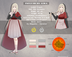 Aika reference sheet by Hikkine
