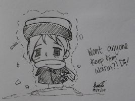 Hetalia Doodles: Cold Russia by shadowflamerofdoom