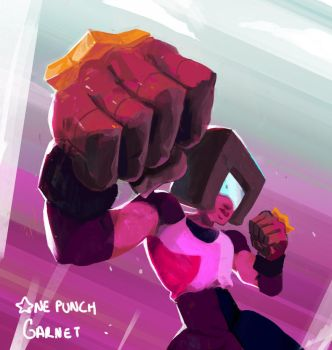 One Punch Garnet by Vlashikito