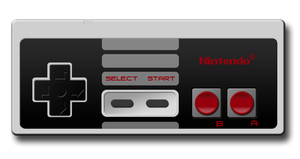 Nintendo NES controller by tibots