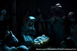Nativity manger III by TheSoftCollision