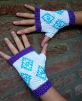 Rarity Fingerless Gloves, MLP: FIM, My Little Pony by PolClary