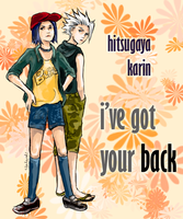 HitsuKarin: Got Your Back by elalendi