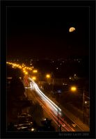 Moonlit Oakpark Road by RichyX83