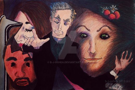Doctor Who Series 8 Cast 280115 by b-j-oshea