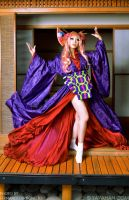 Sheryl Nome Oiran - Macross Frontier by yayacosplay