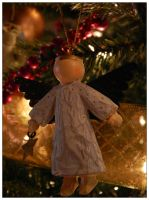 Angel Ornament by livdrummer