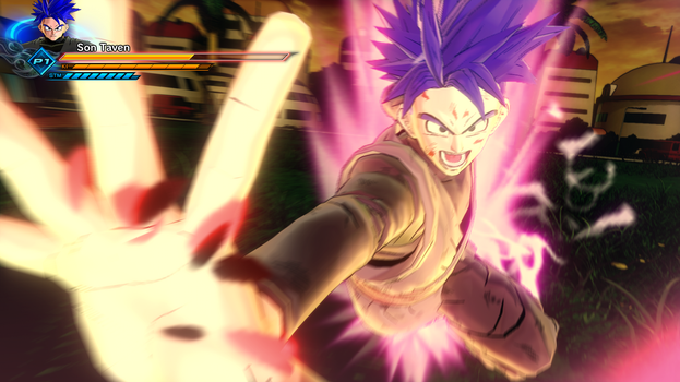 Dragonball Xenoverse 2: Taven Blacks Last Stand by TavenPrower