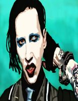 Marilyn Manson  No Pen by daylover1313