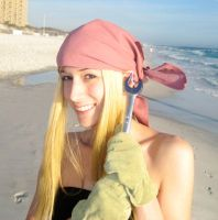 Winry Loves her Wrench by LinkInSpirit