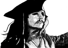 Jack Sparrow by ravens-claws