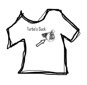 Turbos Suck T - Top by AFireSmothered