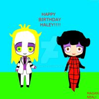 A SURPRISE B DAY REQUEST FOR HALEY!! CHIBI BJ/LYDS by MAGANNEAL