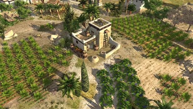 Carthaginian Farmstead by LordGood