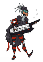 Keytar solo! by dusk-hopper