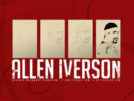 Allen Iverson, Vector Process by mossawi