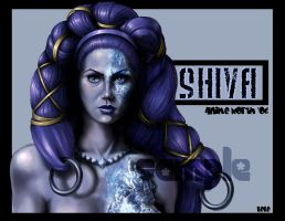 Shiva Portrait by Enchantress-LeLe