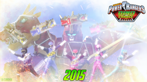 POWER RANGERS DINO CHARGE by LaCandida